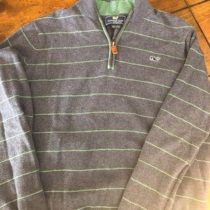 Vineyard Vines Boys' 1/2 zip sweater